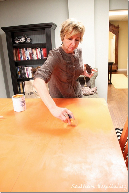 Repainting Kitchen Table