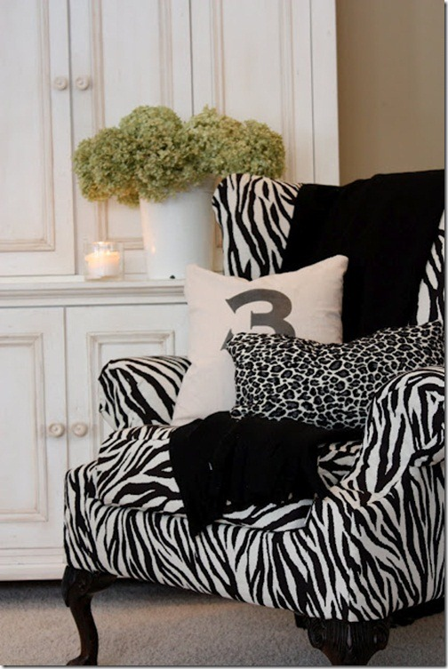 zebra chair