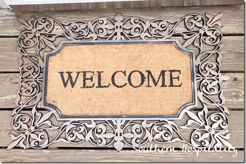 Kirklands welcome mat
