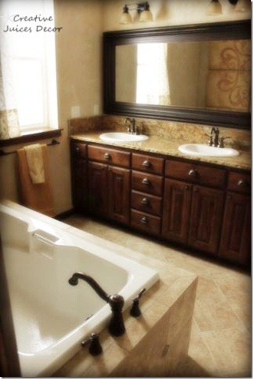 blog rustic tuscan master tub