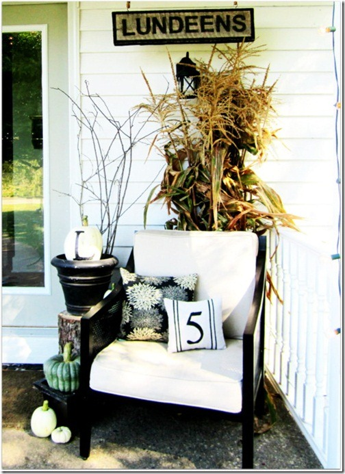 Cheap Outdoor Fall Decorating Ideas