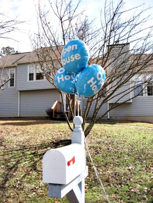 Open House Balloons