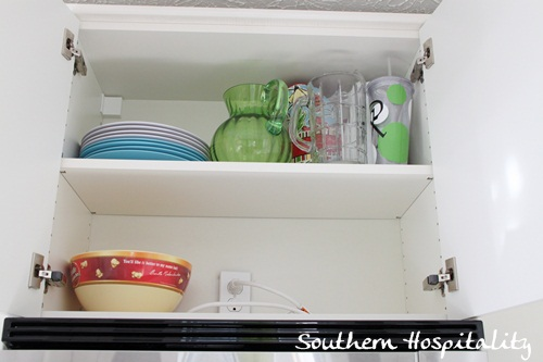 Ikea Kitchen Renovation microwave cabinet