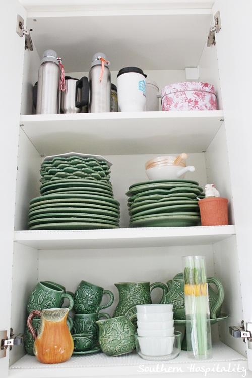 Ikea Kitchen Renovation dish cabinet