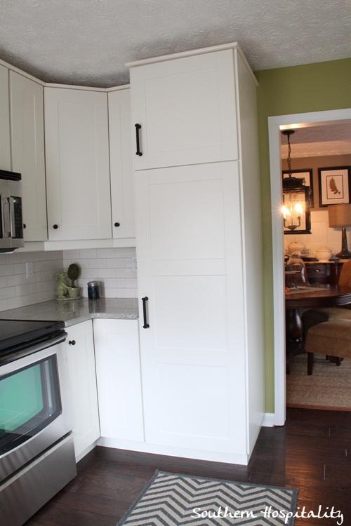 Ikea Kitchen Renovation storage cabinets