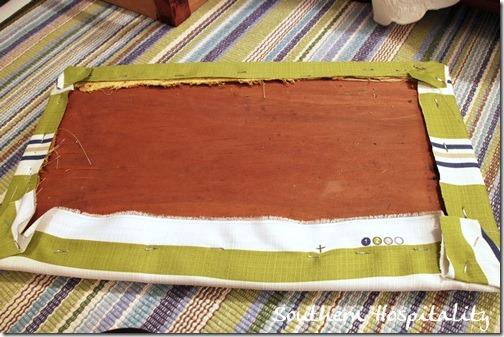 stapled cover