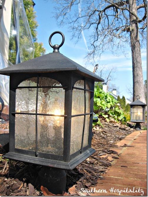 lantern outdoors