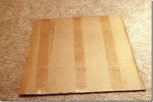 18 inch cardboard template
