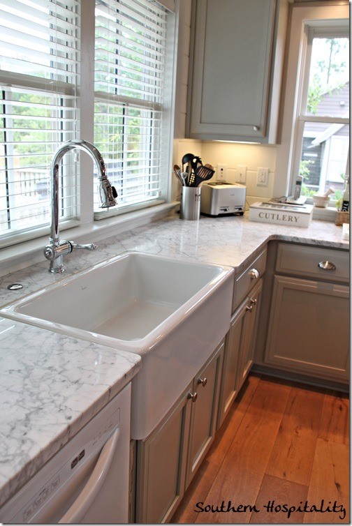 Mitchell Gold Cottage at Serenbe - Southern Hospitality on Farmhouse Countertops  id=76328
