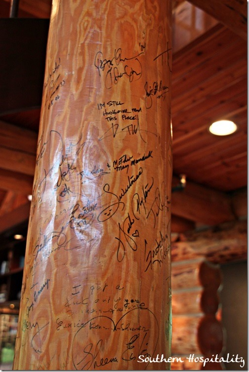signed logs