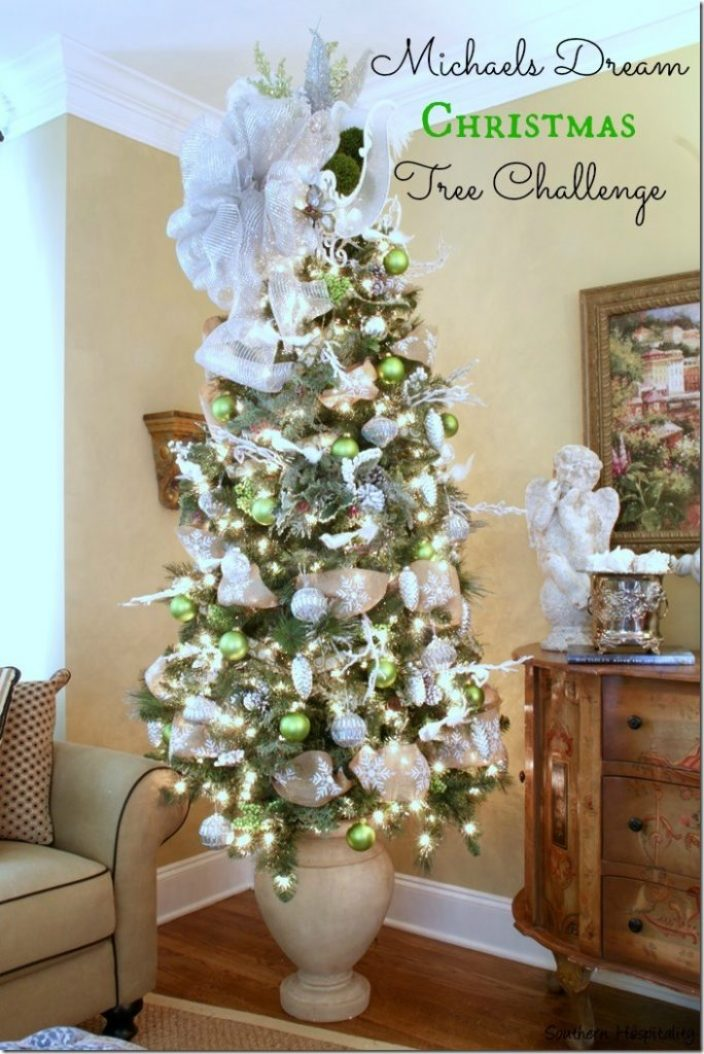 michaels dream christmas tree challenge - Michaels Christmas Decorations 2015
