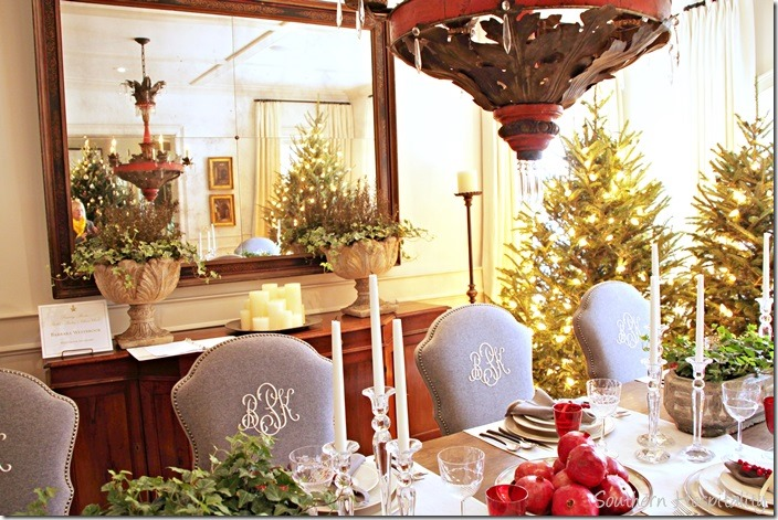 dining room trees