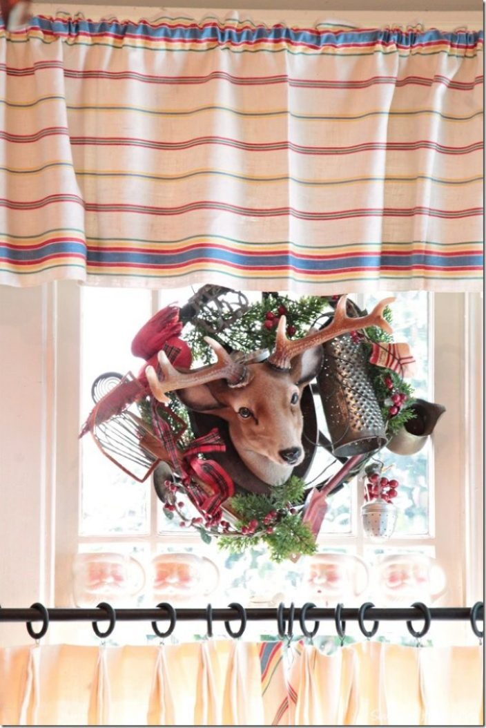 Christmas in window