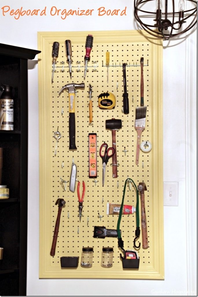 How To Make An Organized Pegboard Southern Hospitality
