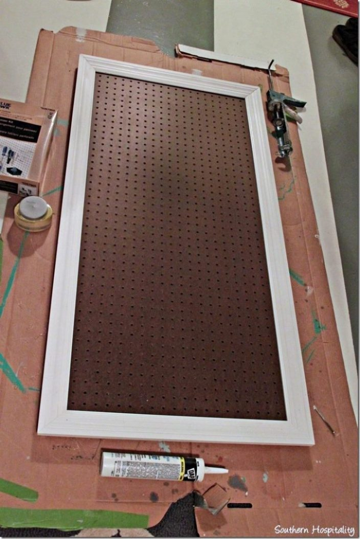 pegboard to paint