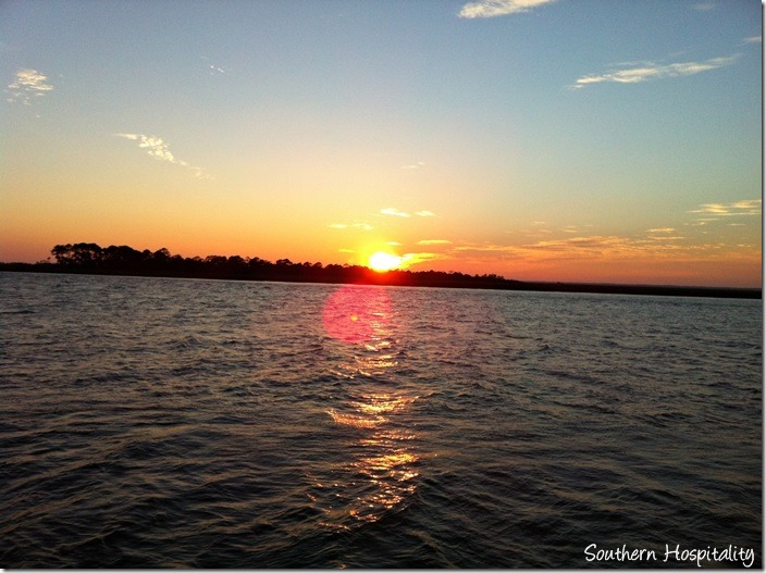 sunset Tybee