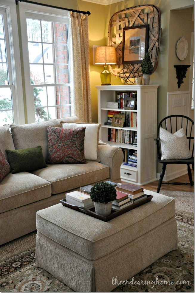 Feature friday the endearing home southern hospitality for Living room 983