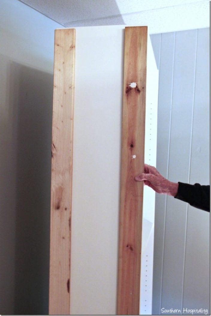 nailed boards