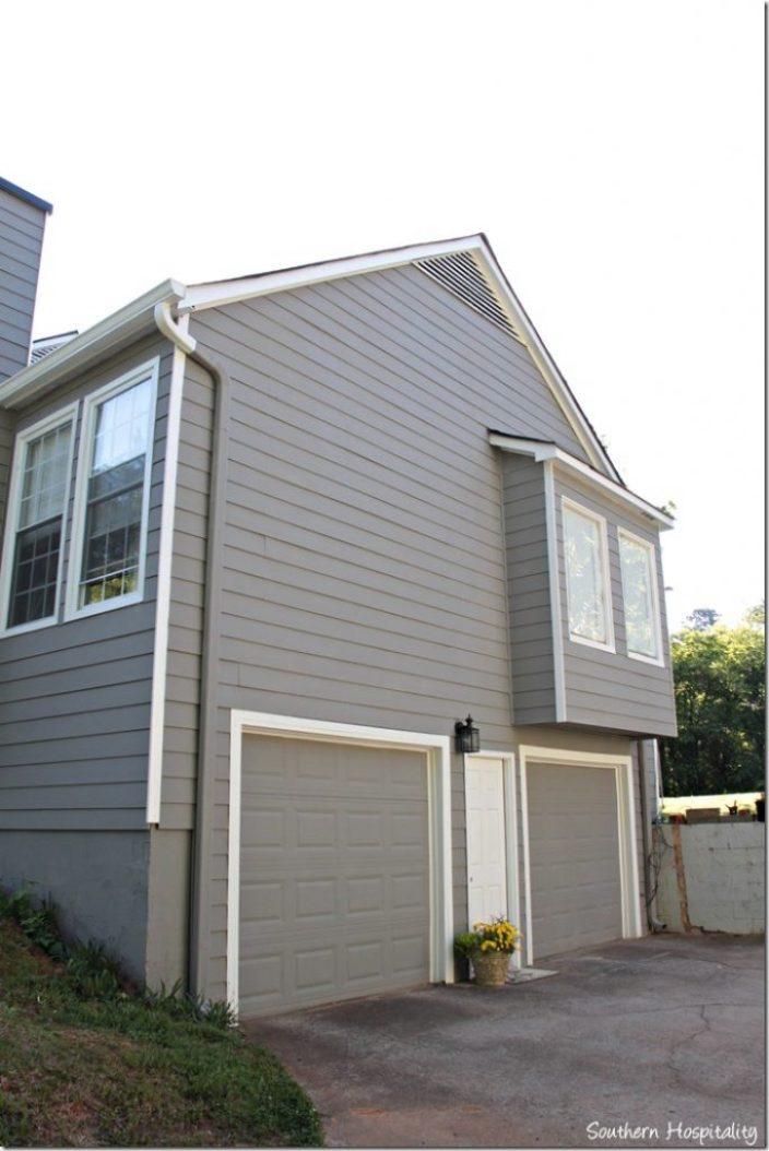 house exterior after garage side