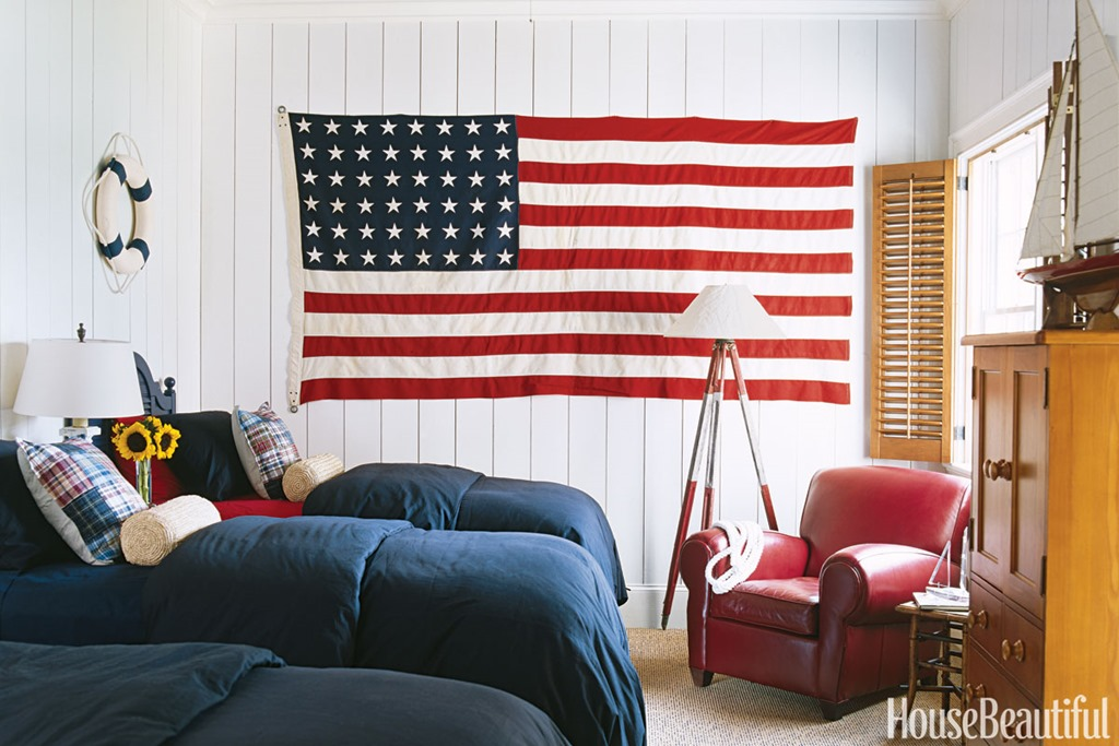 Feature Friday: Decorating With Red, White, And Blue