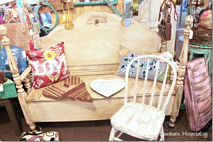sew knot bench