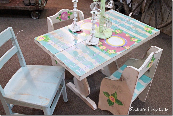 sew knot childrens table