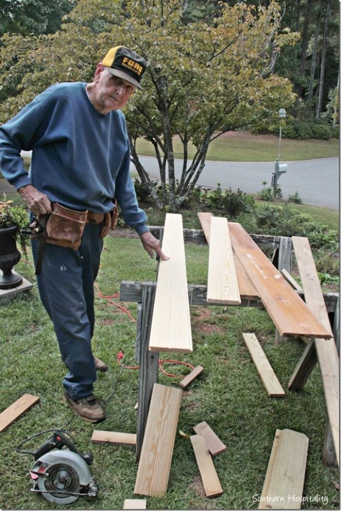 cutting planks