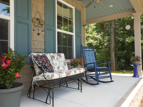 adding front porch to home value