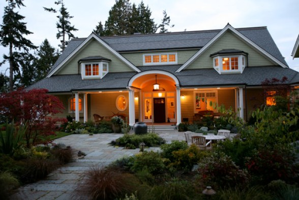 adding curb appeal landscaping