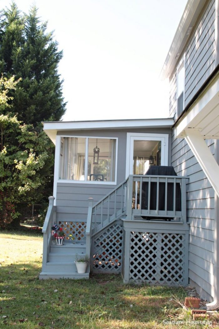 back porch exterior