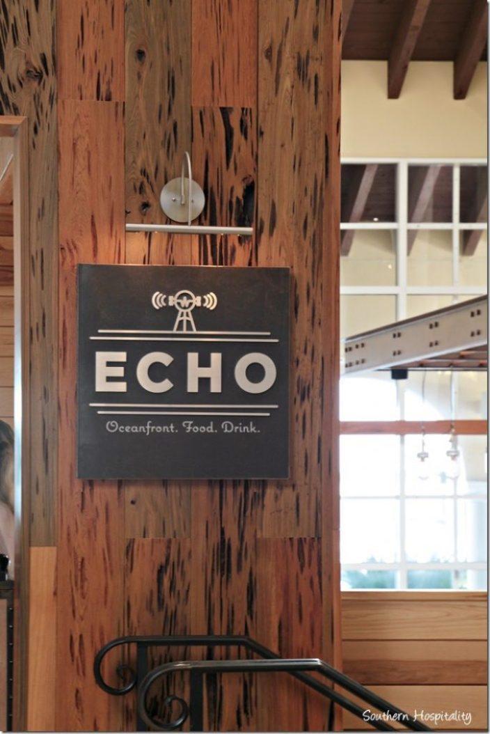 echo bar