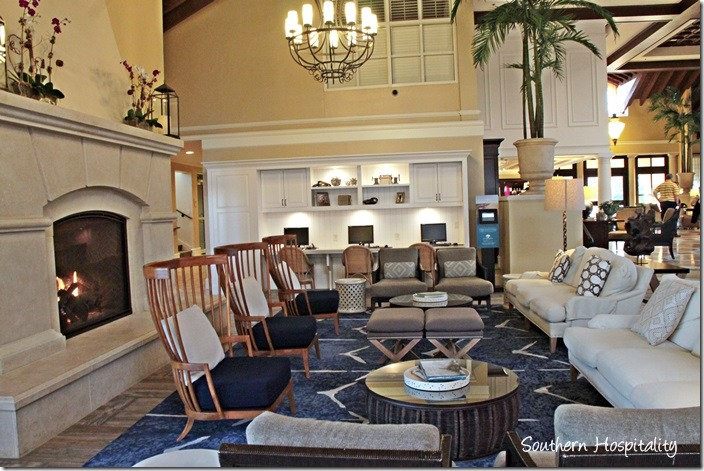 newly renovated lobby king and prince