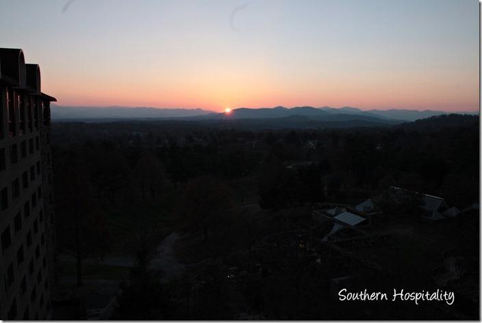 sunset asheville