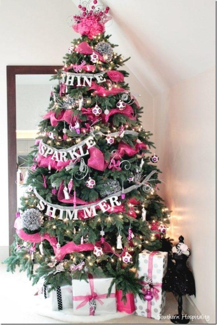 TV christmas tree