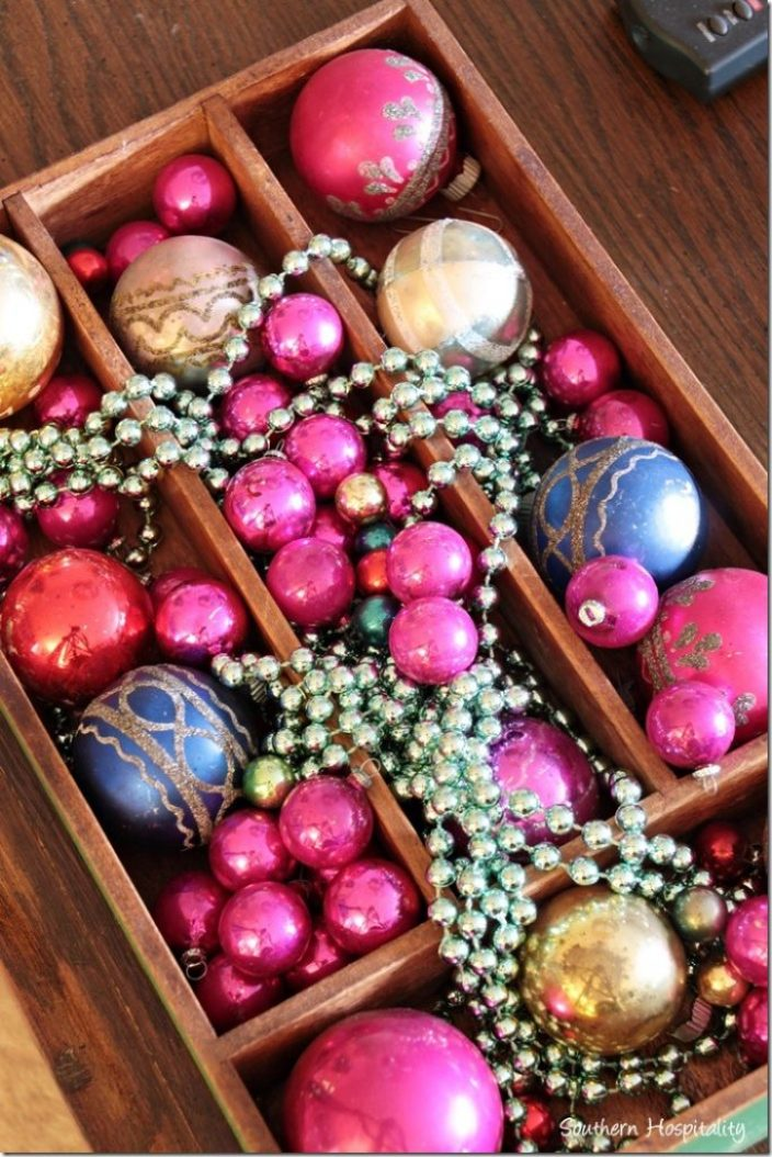 box of balls and baubles