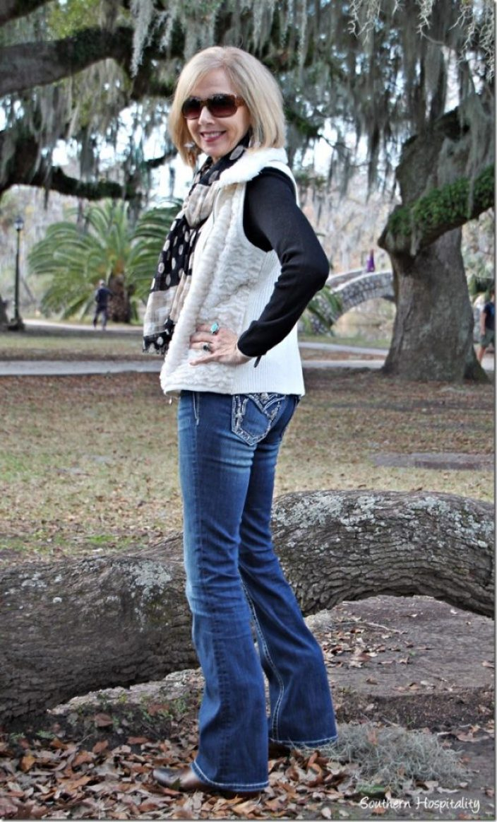 76b2618aa84b Fashion Over 50  Cowboy Boots and Bootcut Jeans - Southern Hospitality