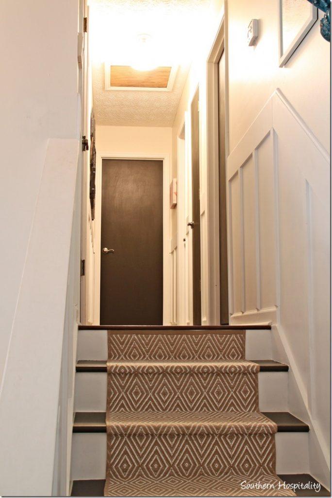 Dark Brown Hall Doors