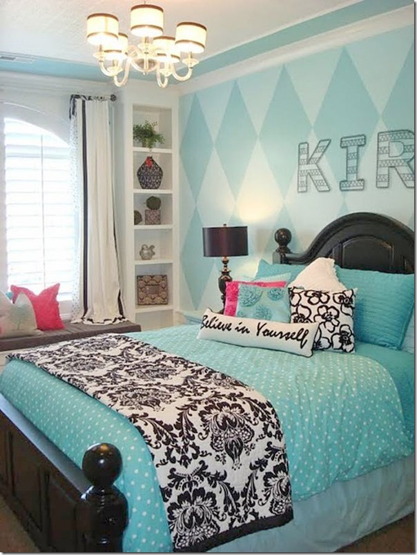 Decorating with Black and White Accents - Southern Hospitality on Room Decorations For Girls  id=68602