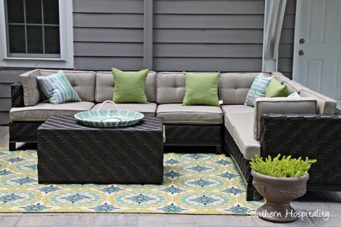 The Decorated Paver Patio Southern Hospitality