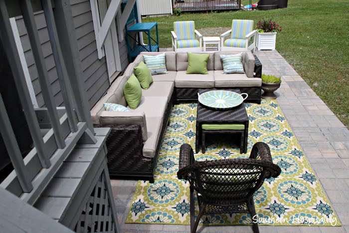 patio sectional ae outdoor