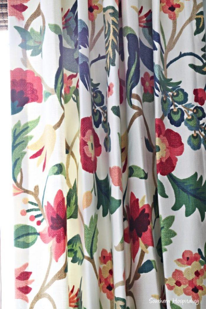 den drapes Lucy Eden fabric