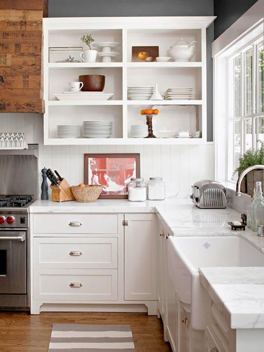 open-shelving-on-upper-cabinets-bhg