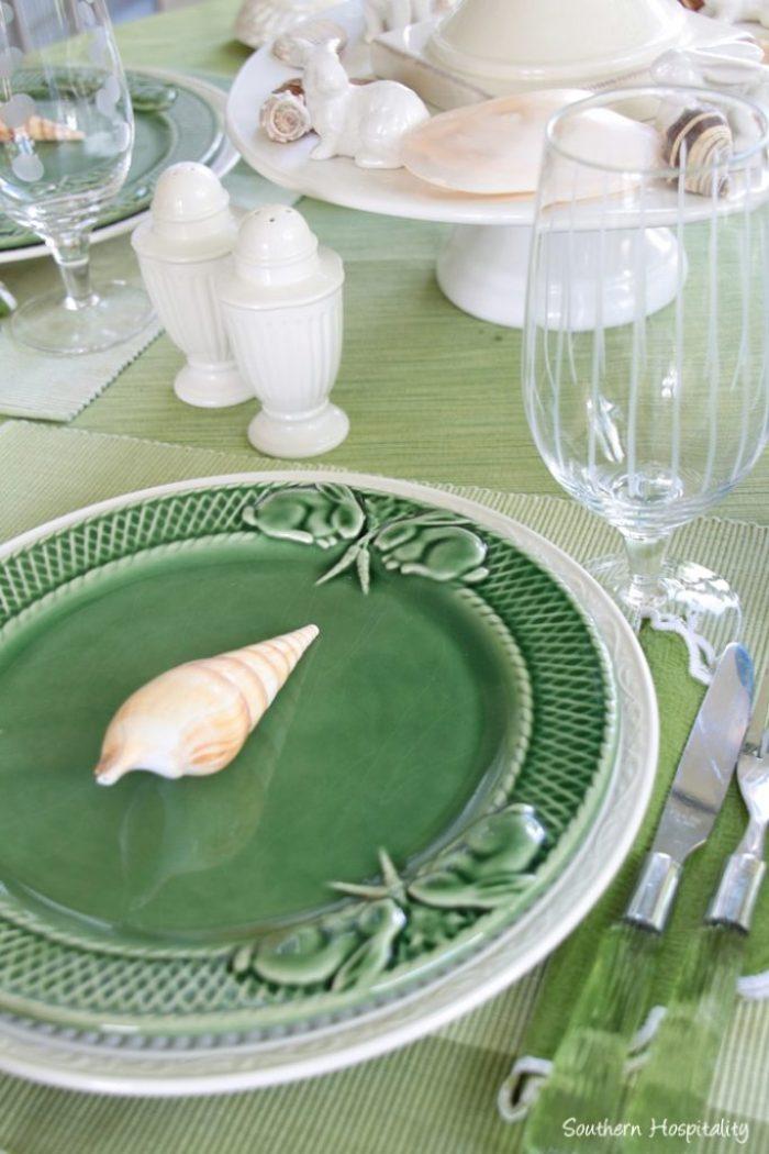 summer table green014