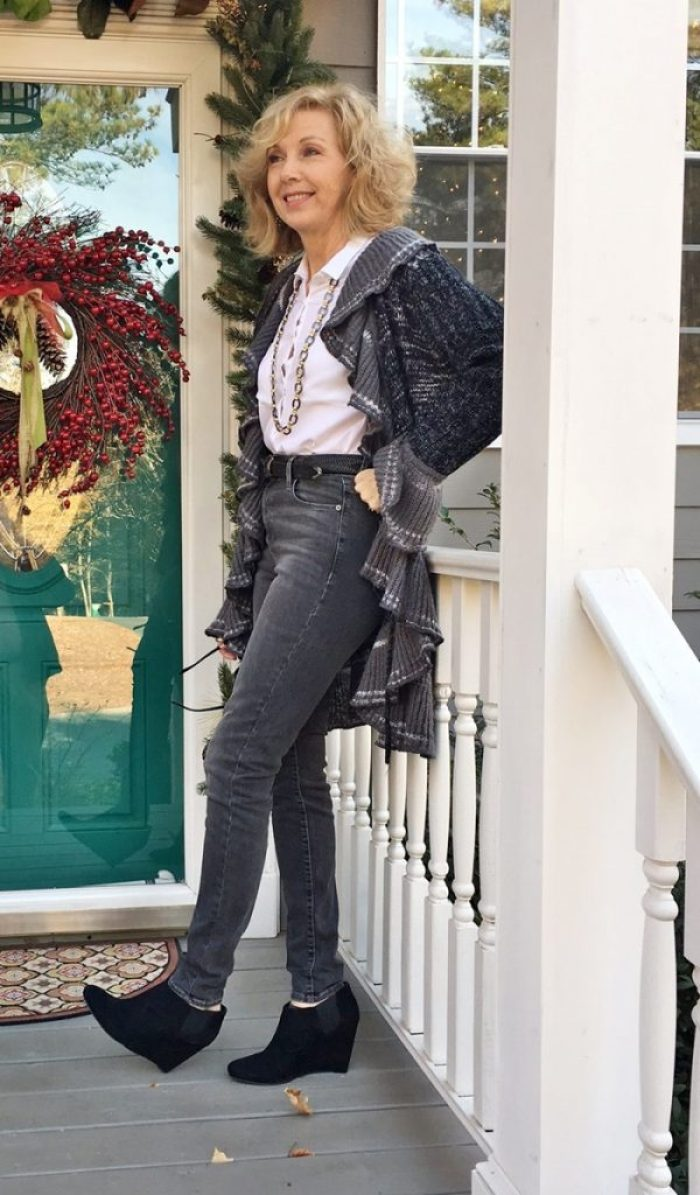 7afc4774ff33 Fashion over 50: Jeans, Sweaters, Booties - Southern Hospitality
