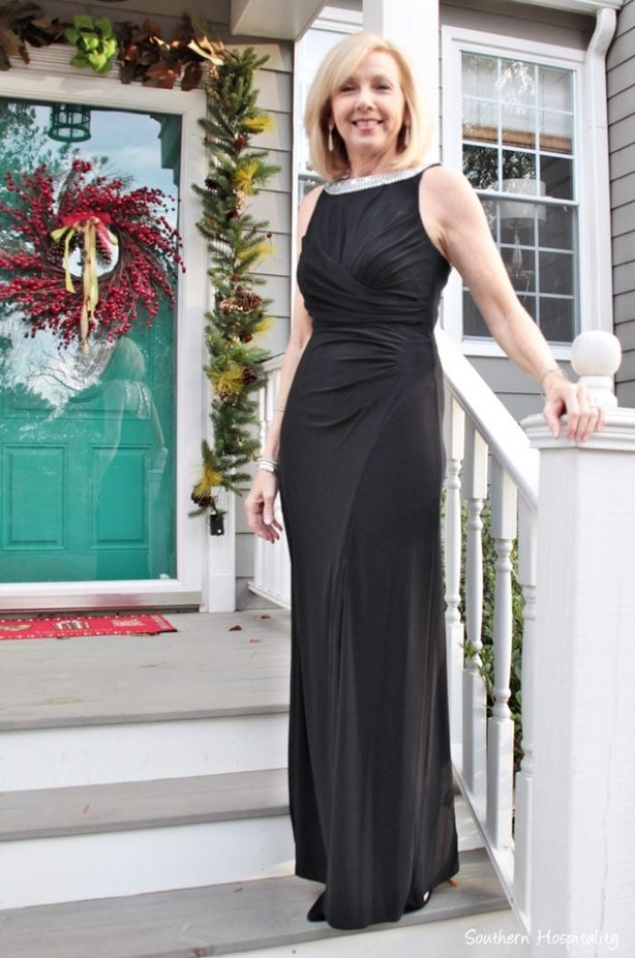 Fashion over 50: Black Tie Dress - Southern Hospitality