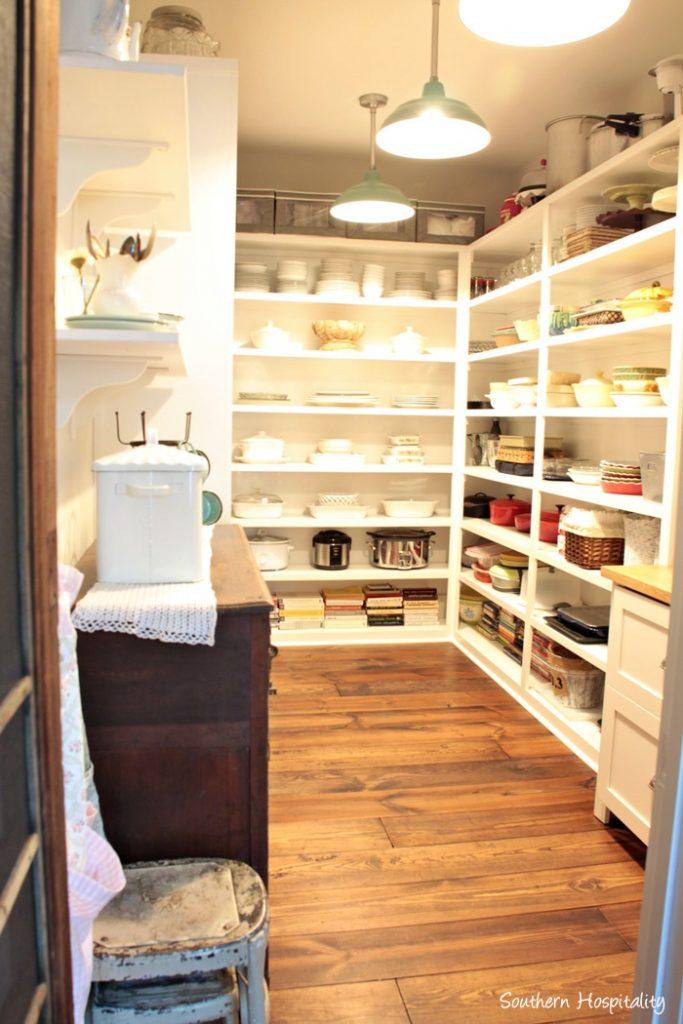 farmhouse inside pantry