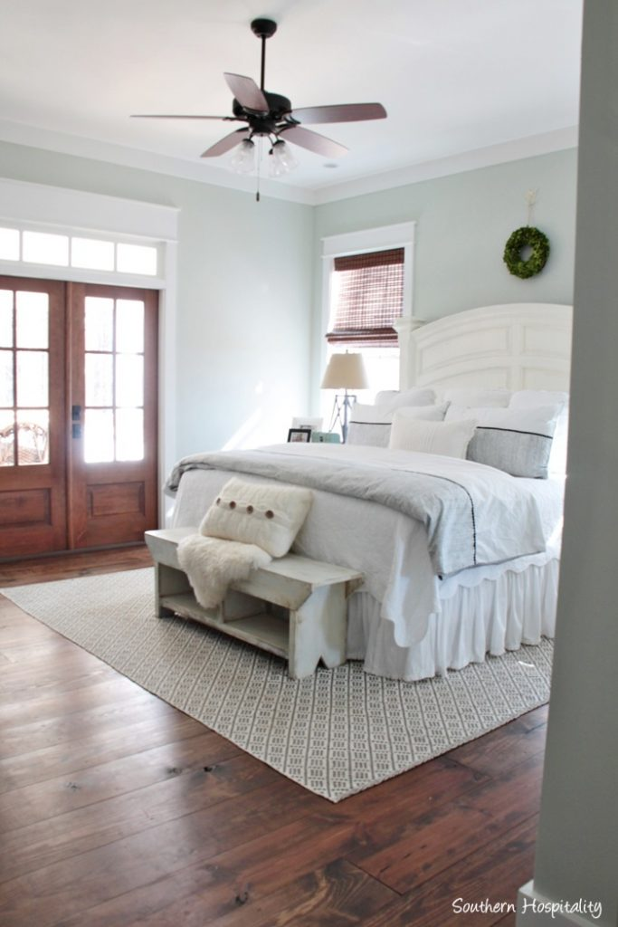 Feature Friday: Modern Farmhouse in North Atlanta ... on Master Bedroom Farmhouse Bedroom Images  id=73761