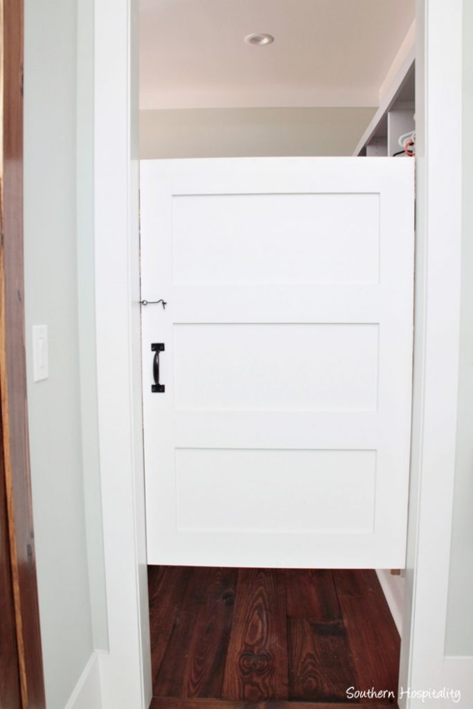 master bath salon door