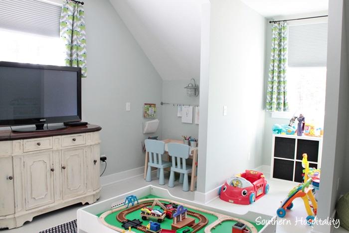 farmhouse playroom