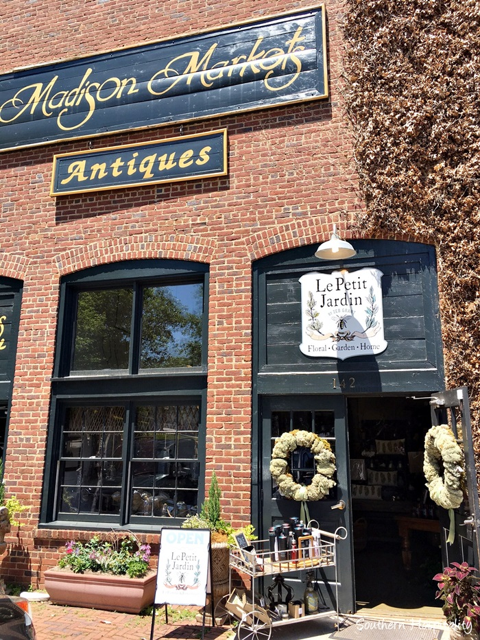 Antiques Browsing in Madison, GA - Southern Hospitality